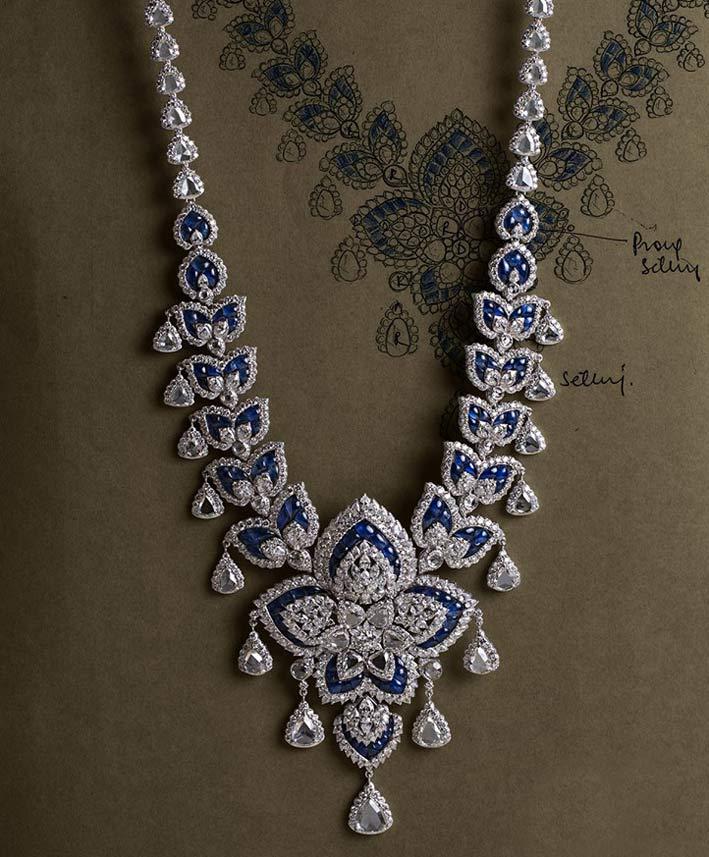 Collana vintage della collezione Delhi Durbar