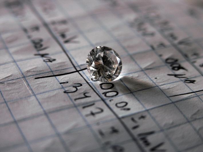 Diamante e investimento