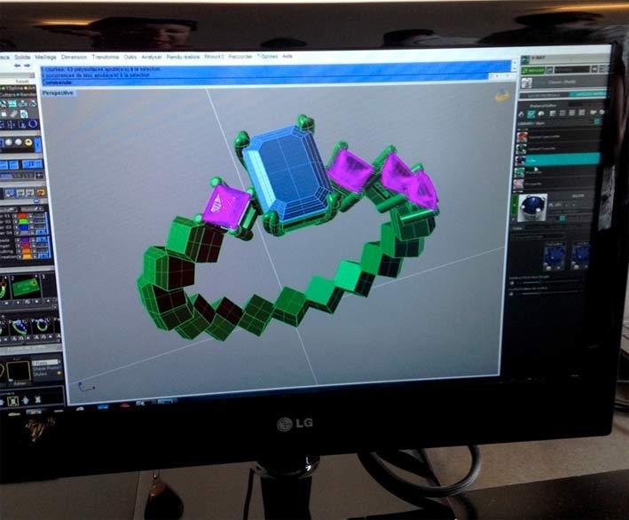 Progettazione in 3D di Jaubalet