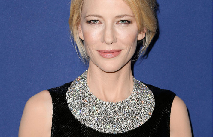 Cate Blanchett con collana di Tiffany