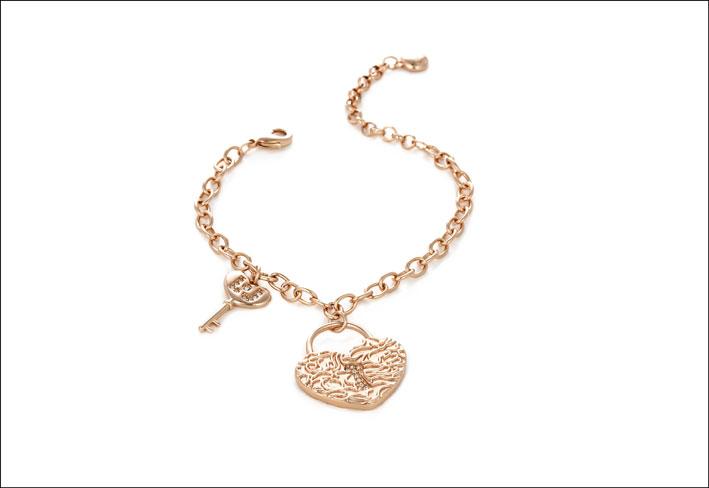 Bracciale Liu Jo: i gioielli sono proposti in tre varianti: gold, silver e gold rose