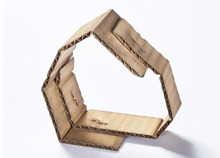 Bracciale collezione cardboard in oro