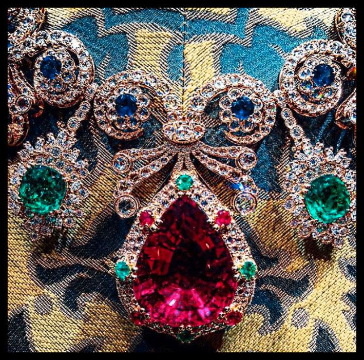 Dolce & Gabbana, gold in Portofino