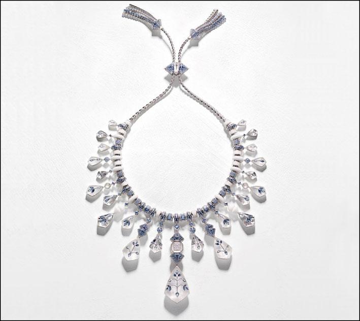 Collezione Bleu de Jodhpur, collana Jodhpur