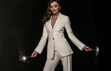 Miranda Kerr indossa una collana della collezione Diapason