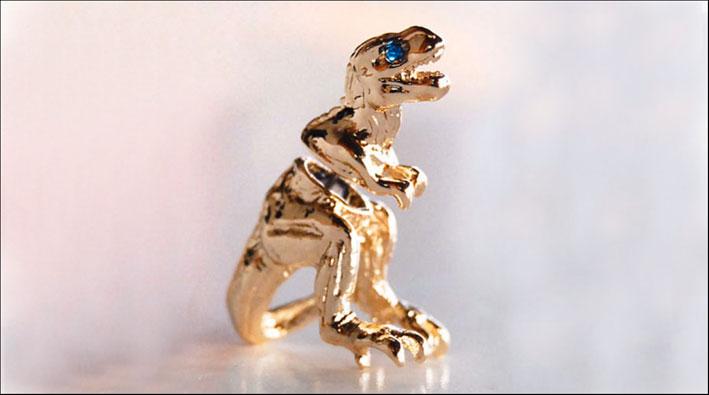 Orecchino T-Rex