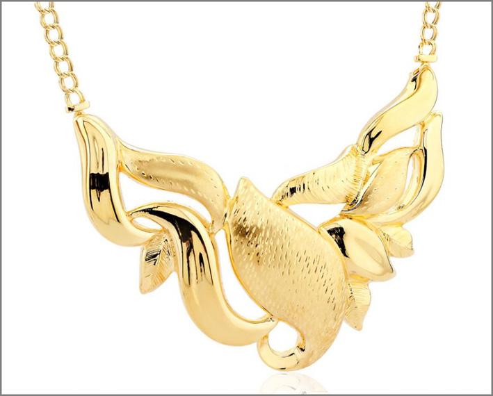 Collana in oro di Giordini