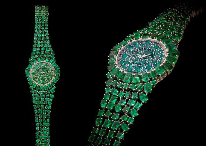 Il bracciale-orologio Piccadilly Princess Royal Emerald Green