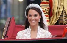 Kate Middleton con la Halo tiara