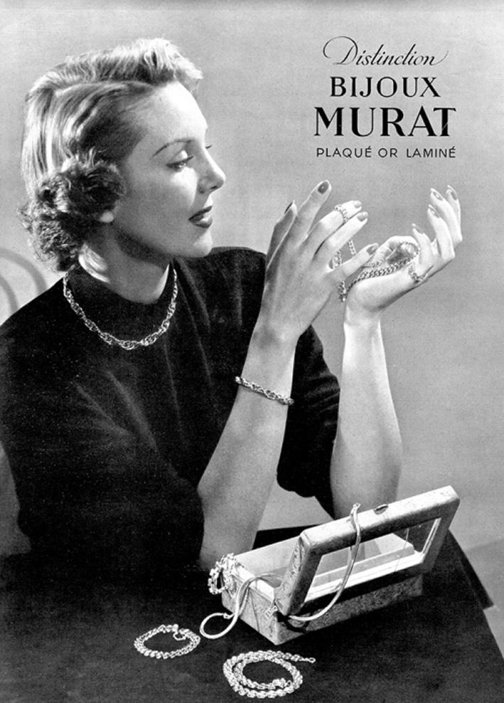 Pubblicità Murat degli anni Cinquanta