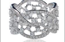 Bibigì, anello in argento e cubic zirconia