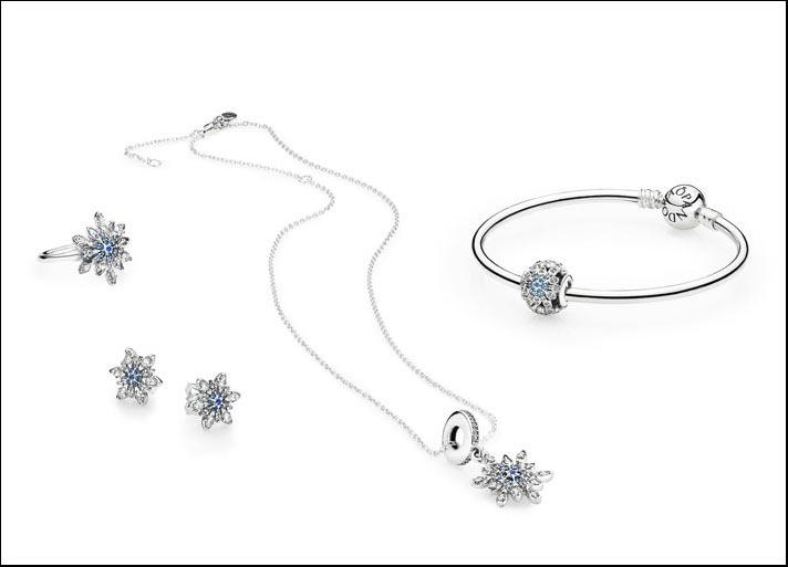 La collezione Dettagli di ghiaccio di Pandora per l'inverno 2015