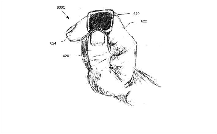 Figura tratta dalla richiesta di brevetto di Apple