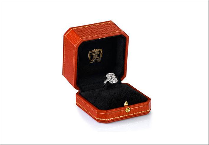 L'anello di Cartier è stato esposto diverse volte dalla Maison francese
