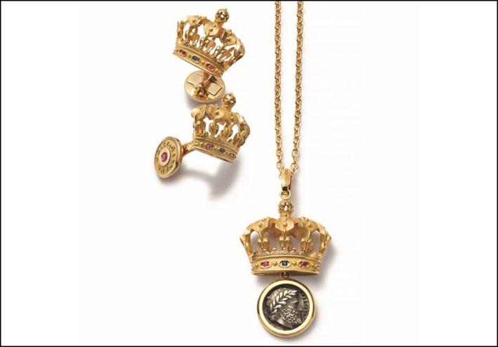 Dolce & Gabbana, pendente della collezione King