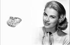 Grace Kelly e l'anello di fidanzamento