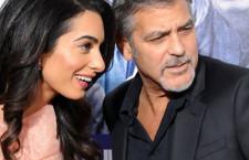Amal Clooney nei Giardini Segreti