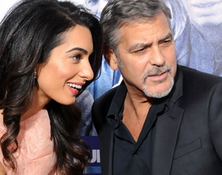 (Italiano) Amal Clooney nei Giardini Segreti