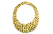 Collana in oro, con tormaline di Andrew Grima