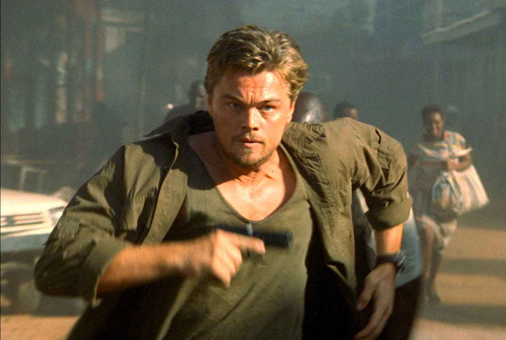 Leonardo DiCaprio in «Blood Diamond»
