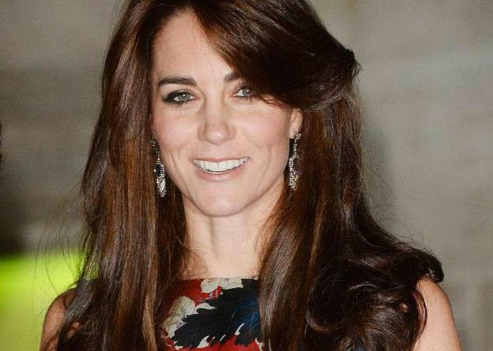 Los pendientes de Kate Middleton son una pista?