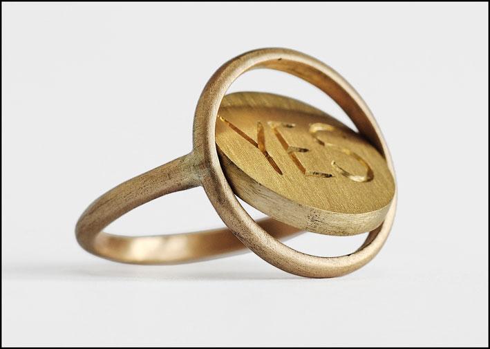 Collezione Moody, anello Yes/No