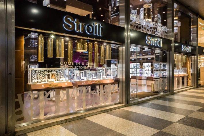 Il flagship store Stroili di Milano