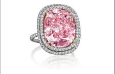 Sweet Josephine: diamante Fancy Pink da 16 carati con taglio a cuscino, montato su anello: venduto per 28,5 milioni di dollari, cioè 36,4 milioni di euro