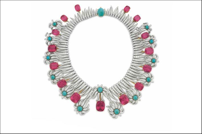 Collana appartenuta a Carroll Petrie, di Schlumberger per Tiffany, venduta per 905mila dollari