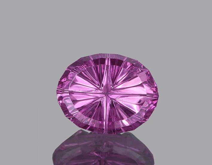 Zaffiro rosa taglio StarBrite