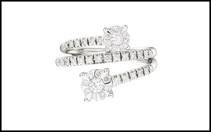 Anello di diamanti Stroili