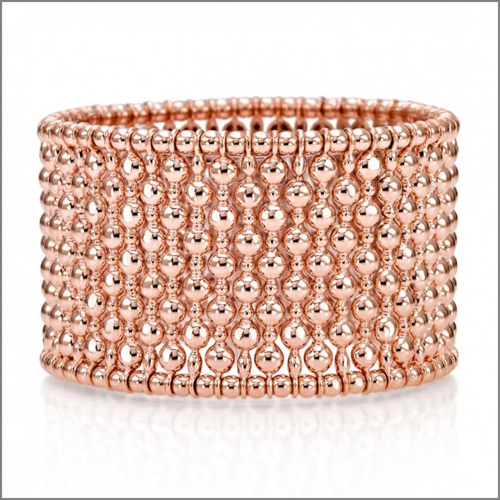 Bracciale Mosaico in oro rosa