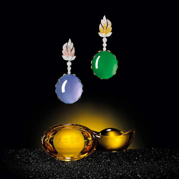 Orecchini trasformabili in pendente o anelli di Alessio Boschi. Venduti per 3,3 milioni di dollari