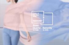 I colori Pantone per il 2016: Rose Quartz e Serenity