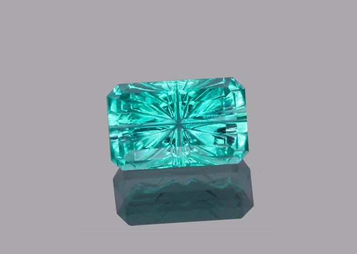 Smeraldo da 0,57 carati taglio StarBrite