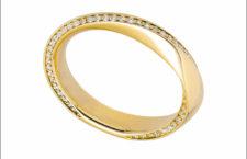 Linhardt, anello in oro giallo e diamanti