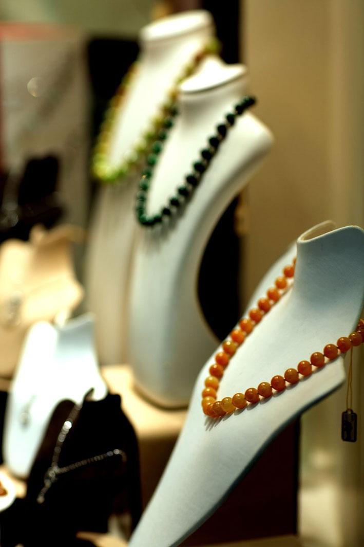 Vetrina di gioielleria