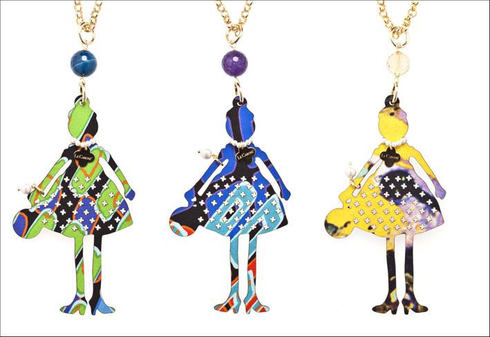 Collane con pendenti della linea Le Carose Couture