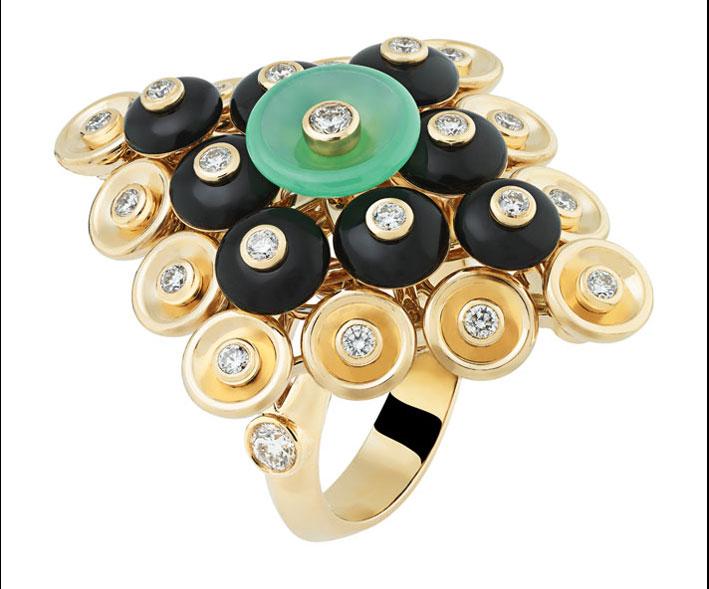 Anello della collezione Bouton d'Or