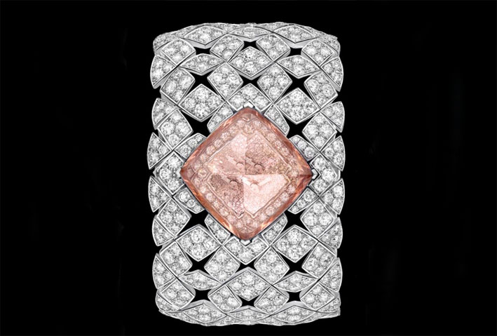 Montre à Secret Signature Morganite