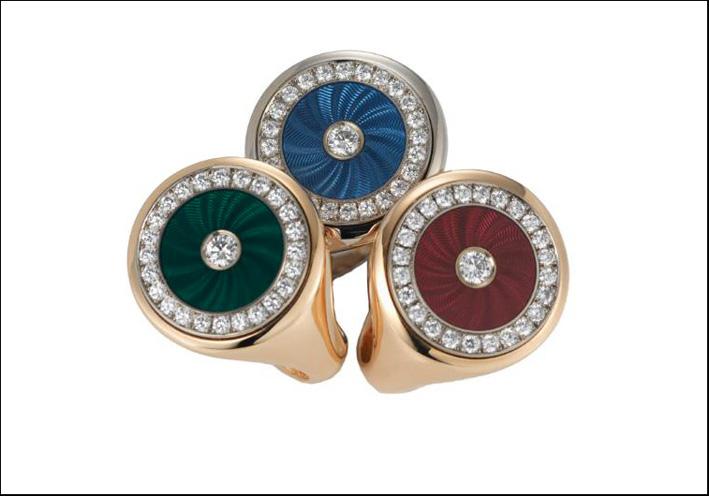 Collezione Chevalèere, anelli