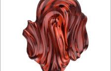 Granato almandino intagliato a mano da 118 carati. Può essere acquistato come scultura autonoma o personalizzato in ciondolo o spilla