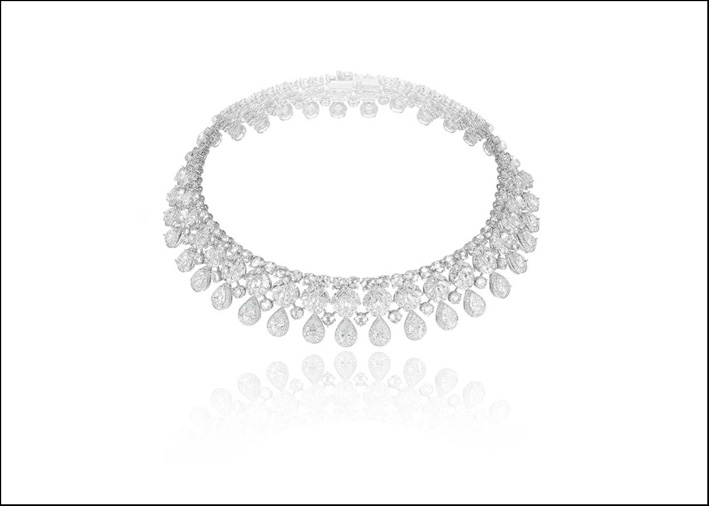 Choker di diamanti