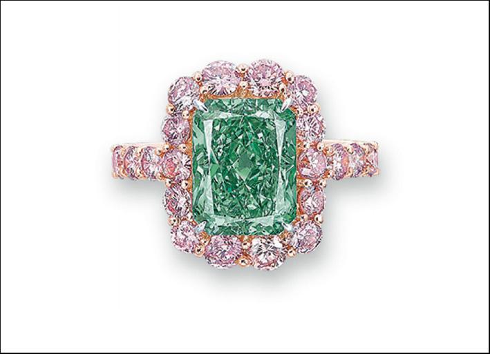 Aurora Green, venduto da Christie's per 16,8 milioni di dollari, record d'asta mondiale