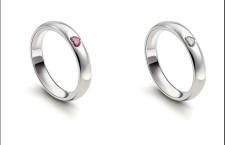 Damiani, anelli con cuore esterno
