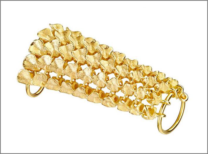 Collezione Resonance, anello in oro