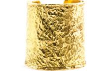 Bracciale in oro martellato