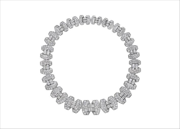 Collana di diamanti di Chaumet