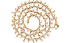 Collana in oro con 50 diamanti
