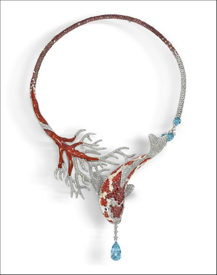 La collana Koi di Sicis